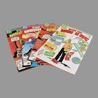 Four 1980's Vintage Comic Books - Son of Ambush Bug - Four (4) Issues