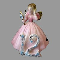 Vintage Josef Original  #12 Birthday Angel - Age Twelve