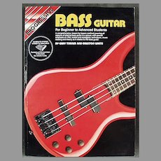 Progressive Bass Guitar for Beginner to Advanced Students - 1992 Book, Paperback
