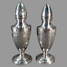 Vintage Sterling Silver Clad, Weighted Salt and Pepper Shaker Set – Vanderbilt Sterling