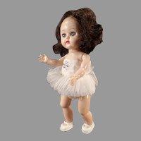 Vintage Bent Knee Ginger Walker Ballerina in Tutu - Cosmopolitan Doll