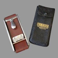 Vintage Kit-Strop Razor Blade Sharpener with Original Case
