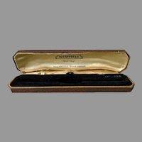 Vintage Westfield Wrist Watch Presentation Box - Masculine Brown Leatherette Covered