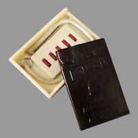 Vintage Ronson Cigarette Lighter Accessories in Bakelite Holder