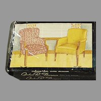 Vintage Fort Smith Chair Company Matchbooks - Four Books of Unused Advertising Matches
