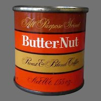 Vintage Butter-Nut Coffee Sample Tin - Coca-Cola Company Product