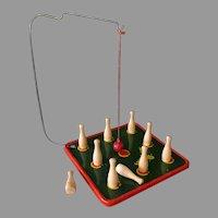 Vintage Tudor Toys Tin Game – Swing Pin – Fun Skill Toy
