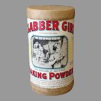 Vintage Clabber Girl Baking Powder Sample Box Advertising