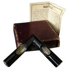 Vintage Starrett #136 Cross Test Level with Original Box