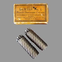 Vintage Pencil Sharpener Replacement Cutter Blades - Dexter #2