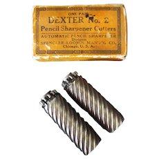 Vintage Pencil Sharpener Replacement Cutter Blades - Dexter #2