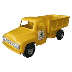 Vintage 1950's Buddy-L Pressed Steel Department of Parks Dump Truck – All Original
