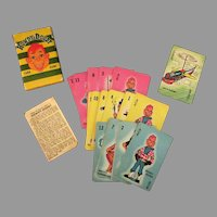 Vintage Howdy Dowdy Card Game with Original Box - Complete with Colorful Cards