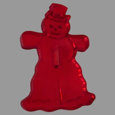 Vintage Christmas Cookie Cutter – Frosty the Snowman