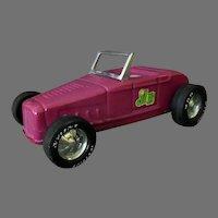 Vintage Nylint Hot Rod Jalopy Roadster Car with Original Decals – Plum Purple
