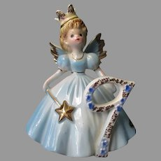 Vintage Josef Original Age 9, Ninth Birthday - Fairy Angel