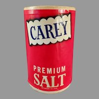 Vintage Salt Box - Carey Premium from Hutchinson, Kansas - Fun Kitchen Decor