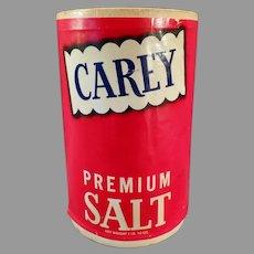 Vintage Salt Box - Carey Premium from Hutchinson, Kansas - Fun Kitchen Decor