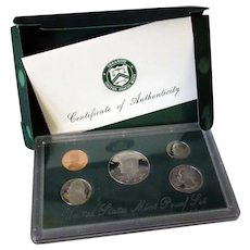 United States Mint Set - 1998 Proof with Kennedy Half Dollar - Original Packaging