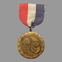 Vintage Sports Medal – 1940 Outdoor Speed Skating Championship