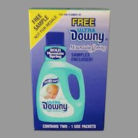 Vintage Sample Downy Mountain Spring Box