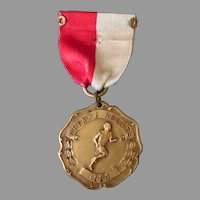 Vintage 1931 Ottawa Relays Sports Medal – 1st Place Pole Vault