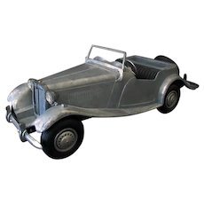 "Vintage Doepke ""Model Toys"" M.G. TD – Unpainted MT Sports Car"