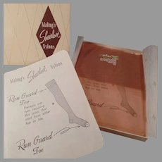 Unused Vintage Nylon Stockings - Maling's Sheerlove - Size 10 1/2