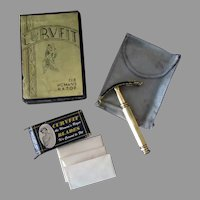 Vintage Ladies Safety Razor - Curvfit with Original Pouch, Blades and Box