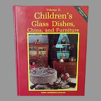 Vintage Reference Book – Children's Glass Dishes, China, and Furniture – Lechler Volume Two