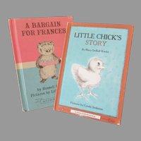 Children's Vintage Storybooks – Little Chick's Story & A Bargain for Frances