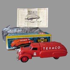 1993 Ertl Texaco #10 Dodge Airflow Bank - Ertl Die Cast with Original Box