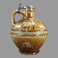 Vintage RMG Stoneware Jug - Reinhold Merkelbach of Grenzhausen Stein Makers 1945-1964