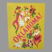 Vintage Souvenir Theatre Program for Rogers & Hammerstein's Musical Oklahoma