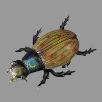 Vintage German Penny Toy – Fun Little Beetle