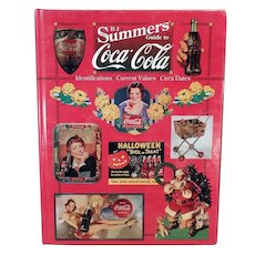 Reference Coca Cola Book - 1997 B. J. Summers Coke Advertising Collectibles Reference