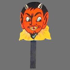 Vintage Halloween Squeaker Toy Noise Maker – Colorful Devil