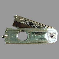 Vintage Valet Autostrop Safety Razor Utility Knife Cigar Cutter Fob
