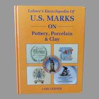 Vintage Hardbound Reference Book – Lehner's Marks on Pottery, Porcelain & Clay - 1988