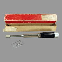 Vintage Hand Tool - 188A Millers Falls Automatic Drill with Original Box