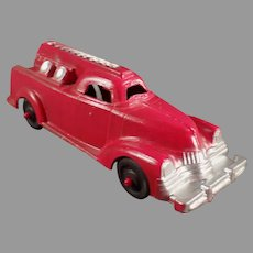 Vintage Manoil Die Cast #709 Fire Engine - 1950's All Original