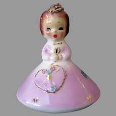 Vintage Josef Original Ceramic - February Doll of the Month Series