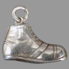Vintage Sterling Silver Charm - Little Boot or Shoe