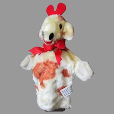 Vintage Character Novelty Co. Soft Plush Giraffe Hand Puppet