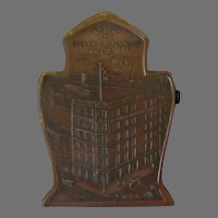 Vintage Sperry & Hutchinson Advertising Paper Clip with S&H Building 1920's