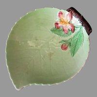 Vintage Leaf Dish with Pink Flower – Carlton Ware Made in England, Australian Design