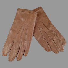 Very Small Vintage Leather Gloves for Large Fashion Doll or Child - Fownes London