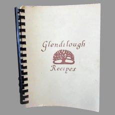 Vintage 1977 Glendilough, Fairfax Virginia Recipes Cook Book