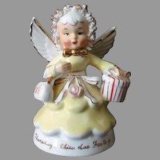 Vintage Porcelain Angel - Thursday's Child Has Far to Go