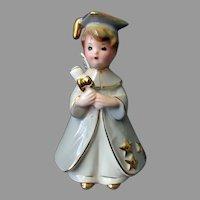 Vintage Josef Originals - Boy Graduate Figurine with Original Label